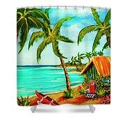 A Beautiful Day  Oahu #357 Shower Curtain