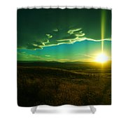 A Beautiful Sunset Shower Curtain