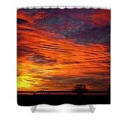 A Beautiful Valentines Sunrise Image Photo Shower Curtain