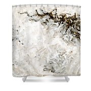 A Better Way Abstract Shower Curtain