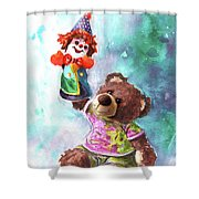 A Birthday Clown For Miki De Goodaboom Shower Curtain
