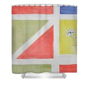 A Bloom For Molly Shower Curtain by Roger Cummiskey