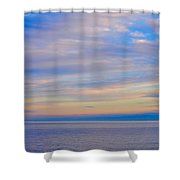 A Blue-tiful Day On Lake Superior Shower Curtain