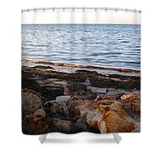 A Bokeelia Afternoon Shower Curtain