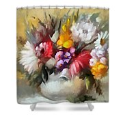 A Bouquet For Caitlin Shower Curtain