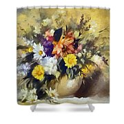 A Bouquet For Elizabeth Shower Curtain
