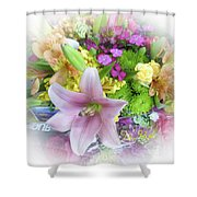 A Bouquet For My Love 46 Shower Curtain