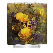 A Bouquet Of Spring  Shower Curtain
