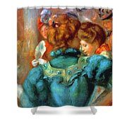A Box In The Theater Des Varietes 1898 Shower Curtain