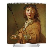 A Boy In The Guise Shower Curtain