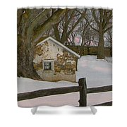 A Brandywine Winter Shower Curtain