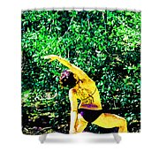 A Breath - Still - In The Moment Shower Curtain