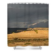 A Brewing Storm Shower Curtain