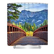 A Bridge To Beauty Shower Curtain
