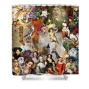 A Brief History Of Women And Dreams Shower Curtain