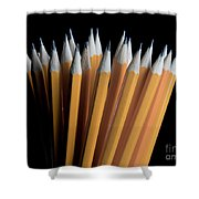A Bunch Of Pencils Shower Curtain