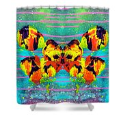 A Butterfly For 2006 Shower Curtain