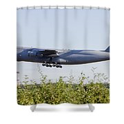 A C-5a Galaxy Of The U.s. Air Force Shower Curtain