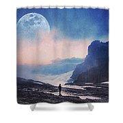 A Call For Miracles Shower Curtain
