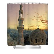 A Call To Prayer Shower Curtain