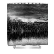 A Calm Day In The Adirondacks Shower Curtain
