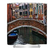 A Canal In Venice Shower Curtain