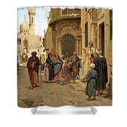 A Captive Audience. Cairo Shower Curtain