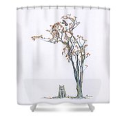A Case Of Envy Re-imagined Shower Curtain