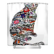 A Cat Can Be Much More Than A Cat Shower Curtain