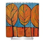 A Change Of Seasons Shower Curtain