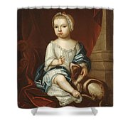 A Child Of The Pierpont Family Shower Curtain