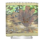 A Christmas Dream By Beverly Guilliams Shower Curtain