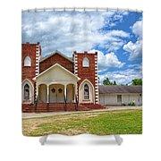 A Church In Sc Shower Curtain