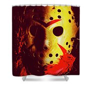 A Cinematic Nightmare Shower Curtain