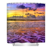 A City In The Clouds Shower Curtain