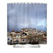 A City Portrait  Shower Curtain