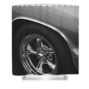 A Classic In Classic Black And White Shower Curtain