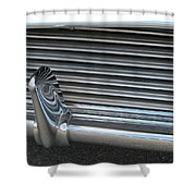 A Clean Grill Shower Curtain