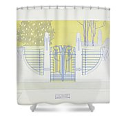 A Collection Of Details Shower Curtain