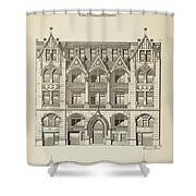 A Collection Of Modern Designs Shower Curtain