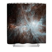 A Colony Of Hot Young Stars Shower Curtain by Stocktrek Images