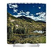 A Colorado Autumn Shower Curtain