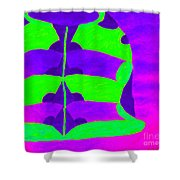 A Colourful  Vase Shower Curtain