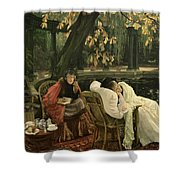 A Convalescent Shower Curtain