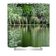 A Cool Drink Of Spring Shower Curtain