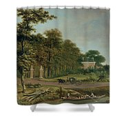 A Country House Shower Curtain