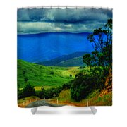 A Country Mile Shower Curtain