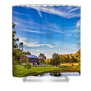 A Country Place 3 Shower Curtain