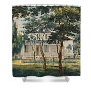 A Country Residence Possibly General Moreau's Country House At Morrisville Pennsylvania Shower Curtain