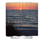 A Country Sunset Shower Curtain